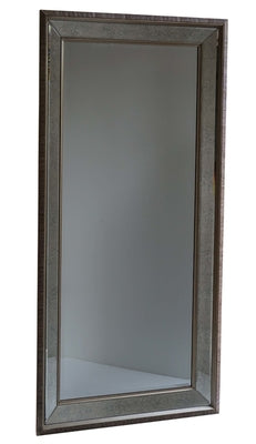 Large mirror with antiqued glass MQM