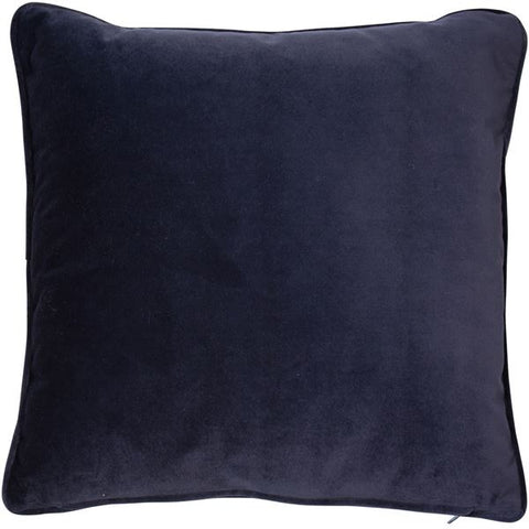 Malini Luxe Cushion 43 cm in navy