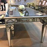 Marrakech Mirrored  180 cm Dining Table REDUCED TO CLEAR !