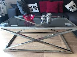 Nico Large stainless steel coffee table special deal this week!
