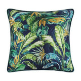 Paradisa Palm Leaf Design in shades of green/blue