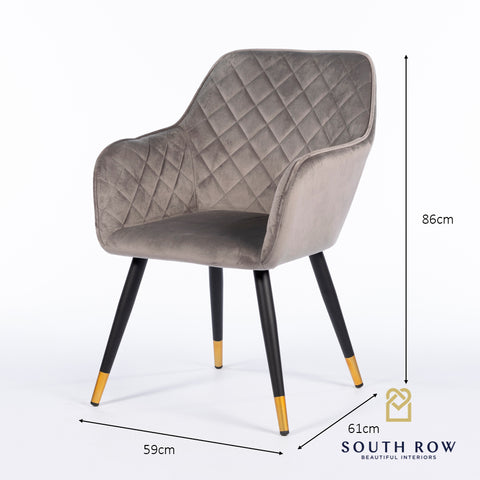 BLACK DIAMOND  accent dining chair grey secial offer on Last 4 left . Warehouse clearance
