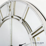 Odyssey Mirrored Clock silver 80 cm collection price Covid 19