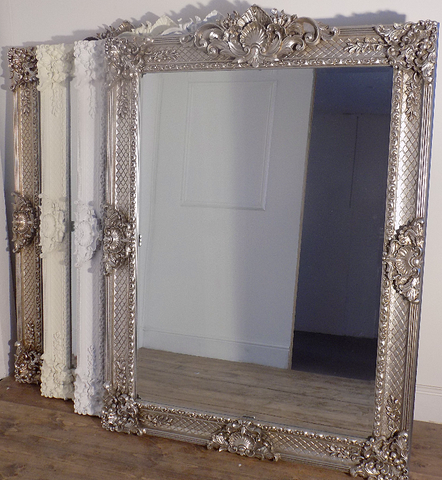 Shelly 1   Large Ornate Mirror131 x 133cm