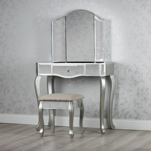 Aimee Dressing table set with free stool and mirror VALUE ALERT !!
