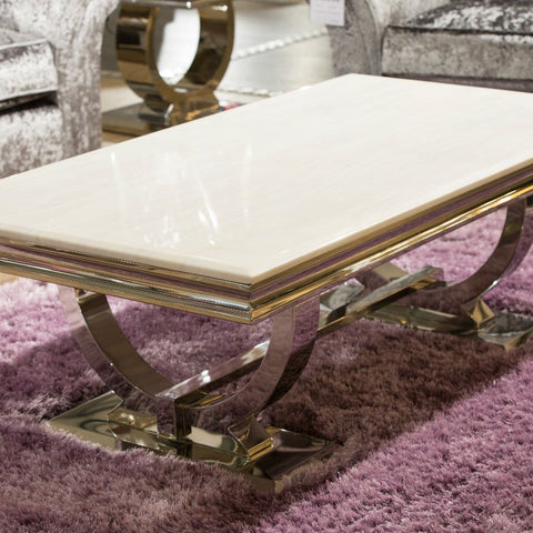 Antoinette Marble Coffee Table