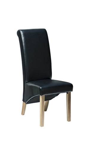 Belgravia /Hampton De Luxe Leather chair black