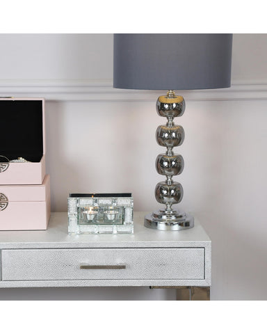Tea light holder  Crystal Block LESS THAN HALF PRICE ! Click N Collect