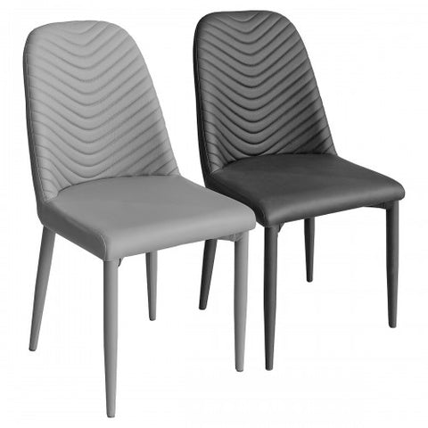 Riverside 996 chairs in   Grey PU