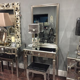 Ava  1 drawer mirror dressing  table