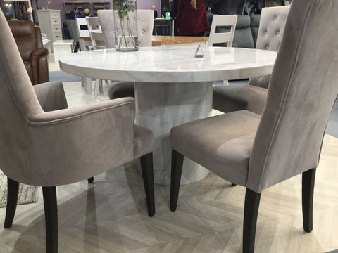 Pembroke   Taupe carver dining chair save €50 per chair