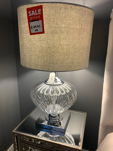 Glass table Verona  lamp 7418.