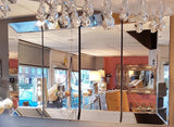 Venetian 4 pieces large sectional mirror pre order for availability end June