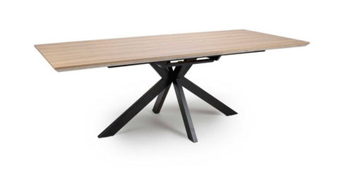Manhattan 180 cm fixed  top 8 seater table