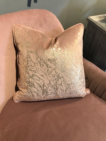 Stardust Blush Pink Cushion 43x43cm