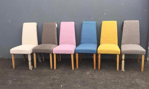 Tuscany chair sold as seen. Collect in depot Mix & Match with other colours from €40 ea
