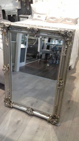 Sorrel  xl French Silver Mirror