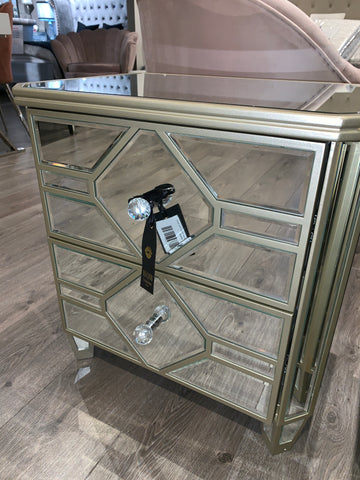 Romance 2 Drawer Bedside Locker