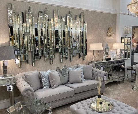 Prism Elan mirror set   Showstopper SHOWHOUSE  mirrors