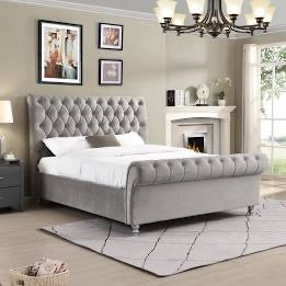 Kildare chesterfield Double  bed stunning value Silver