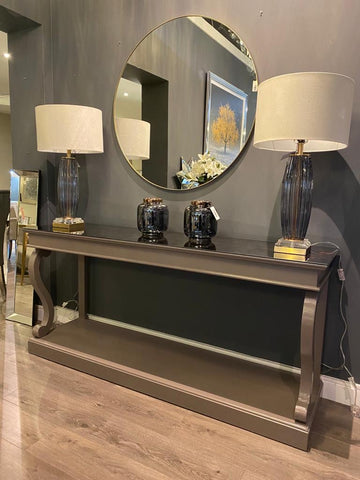 Dione Scroll bespoke  Console table 180 cm POA