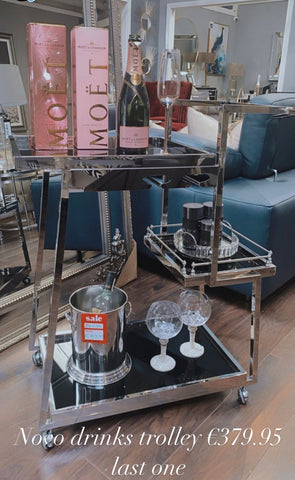 Novo drinks trolley last one on clearance offer.
