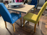 Yellow gold chairs clearance  sold as seen