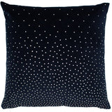 Malini Navy zircon cushion 45 cm