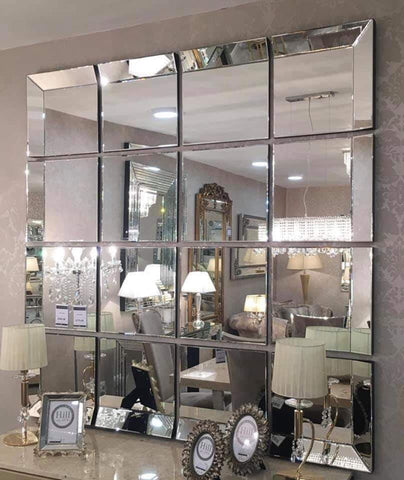 16 piece sectional mirror