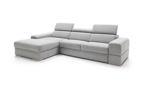Plaza large sofa with headrests and chaise 293 cm