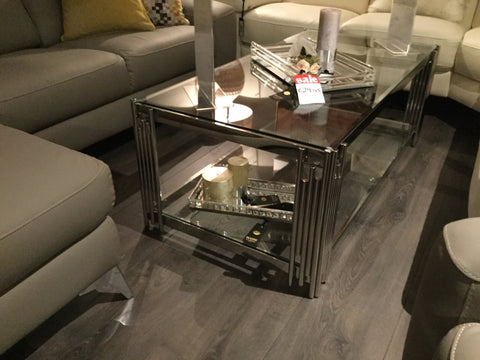 Conrad Coffee table with shelf