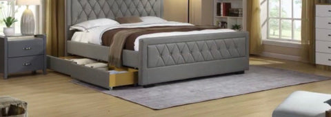 Las Vegas bed with drawers in 3 sizes