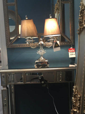 Ava  1 drawer mirror dressing  table ***DISCOUNT ALERT !