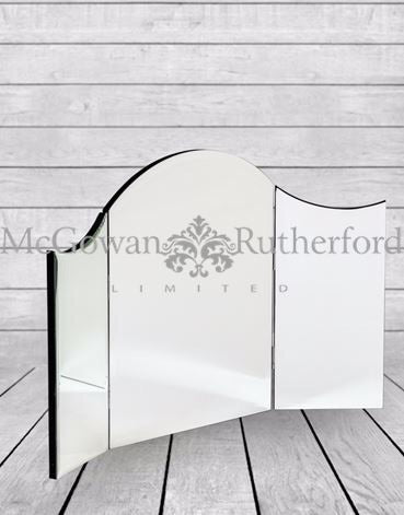 Venetian Deco Dressing Table  tri Mirror