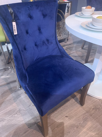 Delsey hotel quality navy dining chair