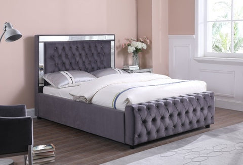 Dakota mirror frame bed 5 ft king size