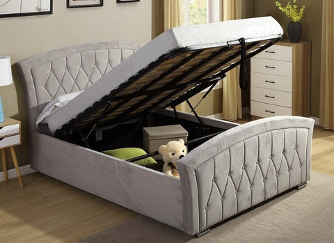 Kingston Gas lift bed in small double is the perfect bed