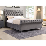 Kildare  Super King bed stunning value Grey. IN STOCK !
