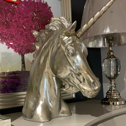 Unicorn head silver half price CLEARANCE