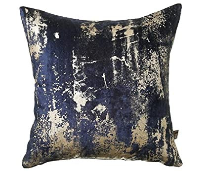 Moonstruck  Navy Cushion  45 x 45     or 58x58cm