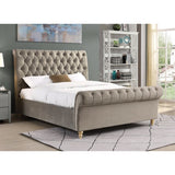 Kildare chesterfield bed stunning value Mink in 3 sizes PRE ORDER
