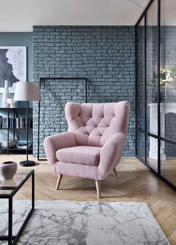 Voss armchair bespoke in colour of your choice