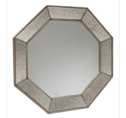 Venetian mirror Octagonal with beveled  glass 3114