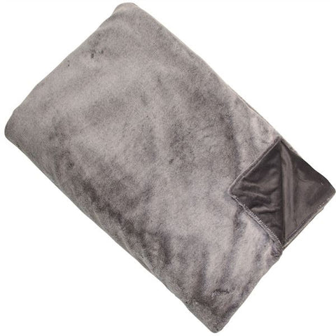 Malini faux fur throw 150 x 200