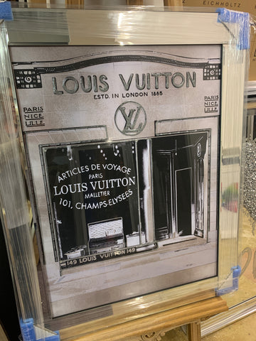 Louis Vuitton mirrored picture