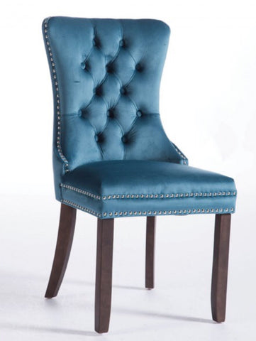 Kayla  velvet dining chairs in 4 Colour choices ( pre order )