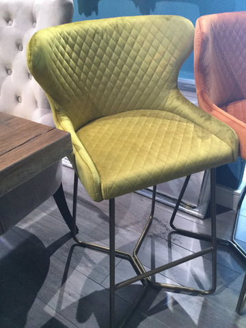 Cherish  bar stools  in 4 colours with matching dining chairs  in the range