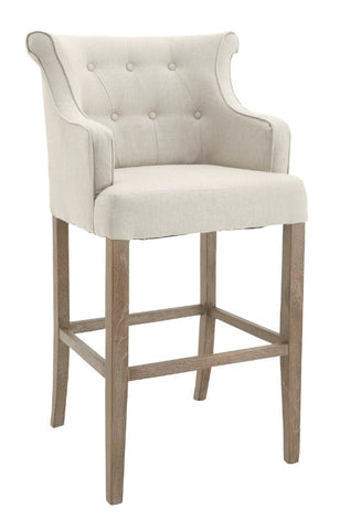 Gala Armchair Linen Stool  Linen grey or natural  . warehouse clearance