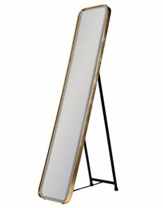 Arden 150 cm dressing mirror with frame in gold or silver Click N. Collect