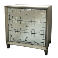 New Viva mirrored chest of drawers